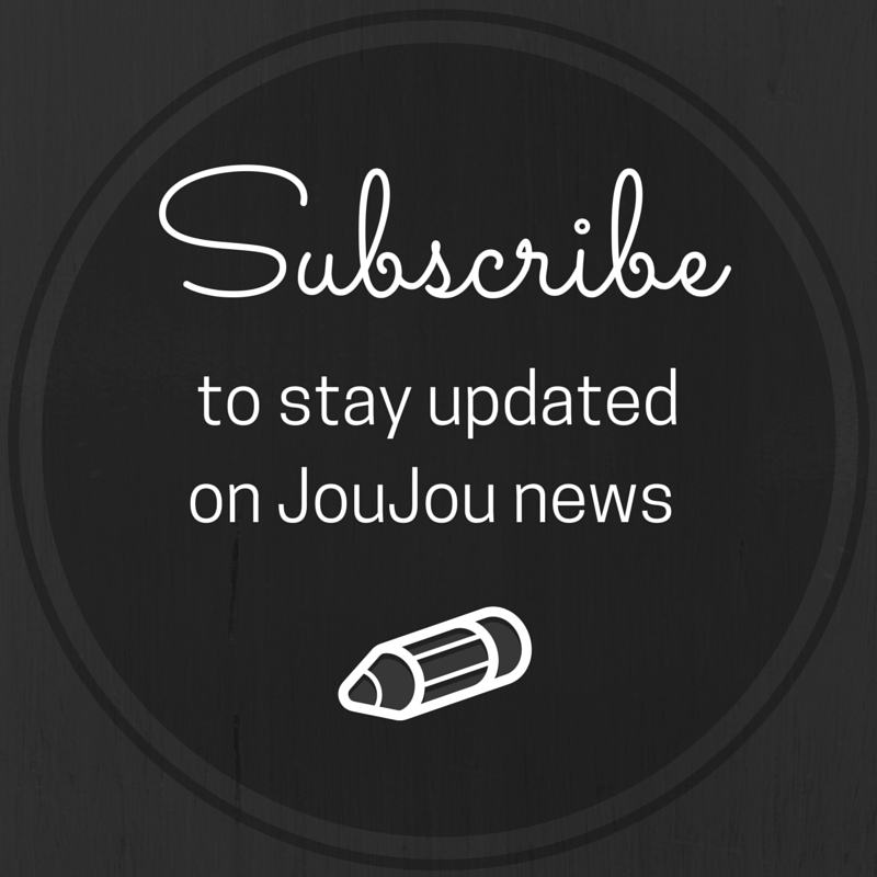 JouJou Website Graphics - Subscribe