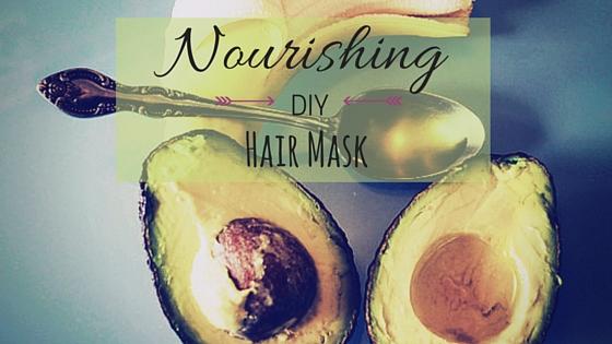 DIY Moisturizing Hair Mask Avocado Banana Oil - Instagram - Blog (1)