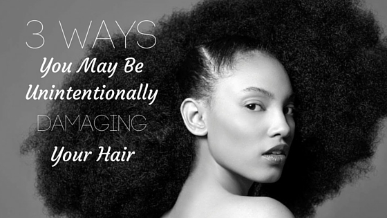 3 Ways Damaging Hair - Blog