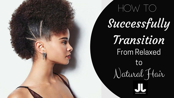 Transition to Natural Hair Blog